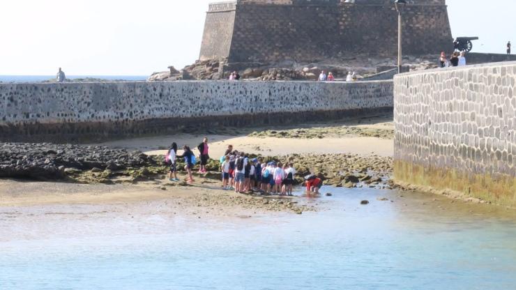 Colegio Capellania visita la Marina (8)