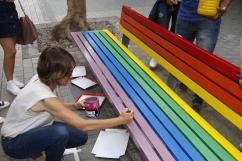 Pintado banco Calle Real (6)